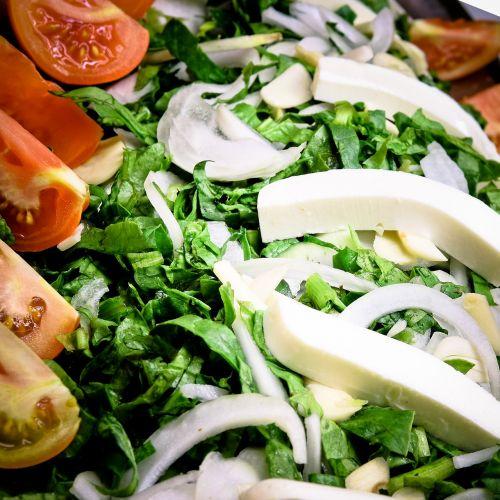 salad food buffet