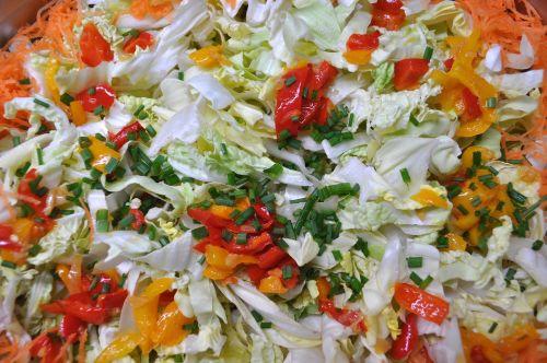 salad buffet food