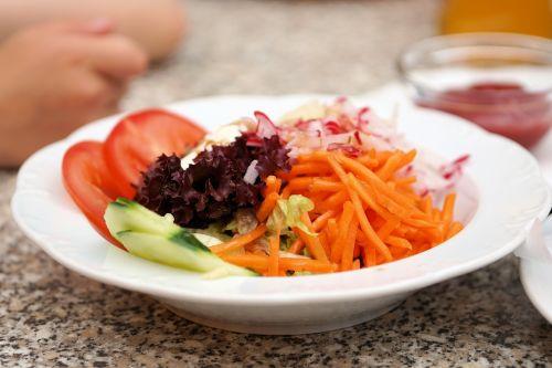 salad frisch plate