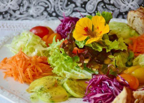 salad salad plate plate