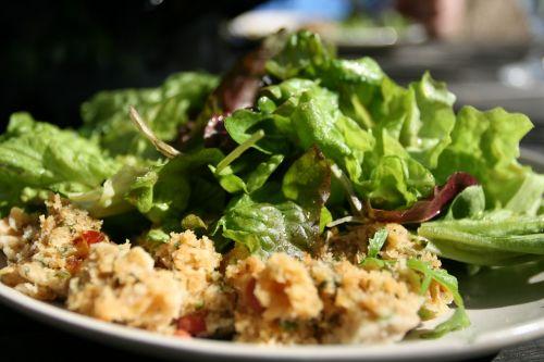 salad salad plate eat