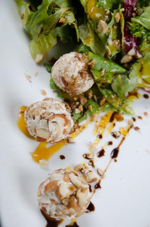 salad  sauces  almonds