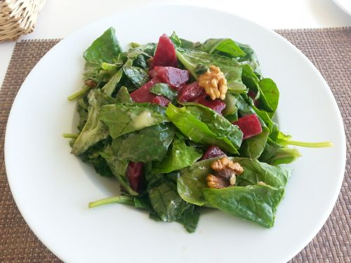 salad spinach beetroot