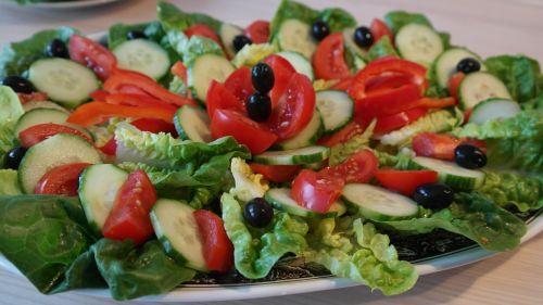 salad salad plate leaf lettuce