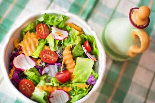 salad fresh veggies