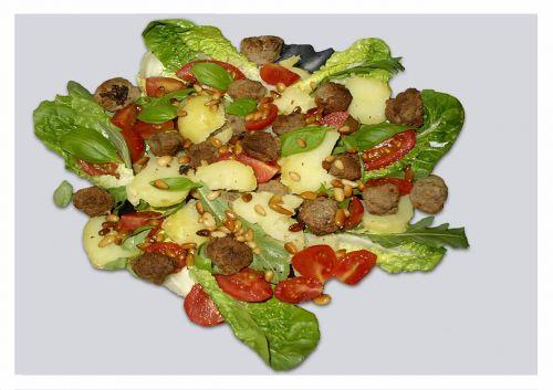 salad tomatoes food