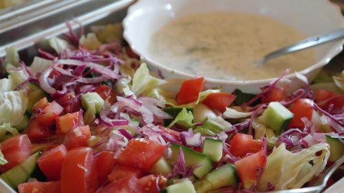 salad mixed buffet