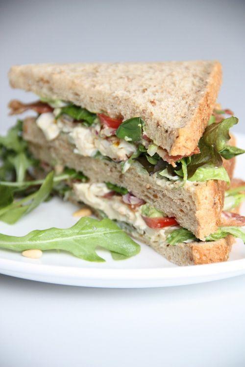 salad sandwiches lunch