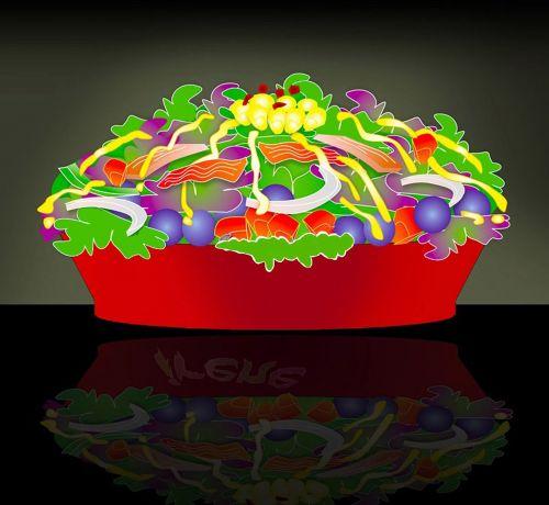 salad veggies food