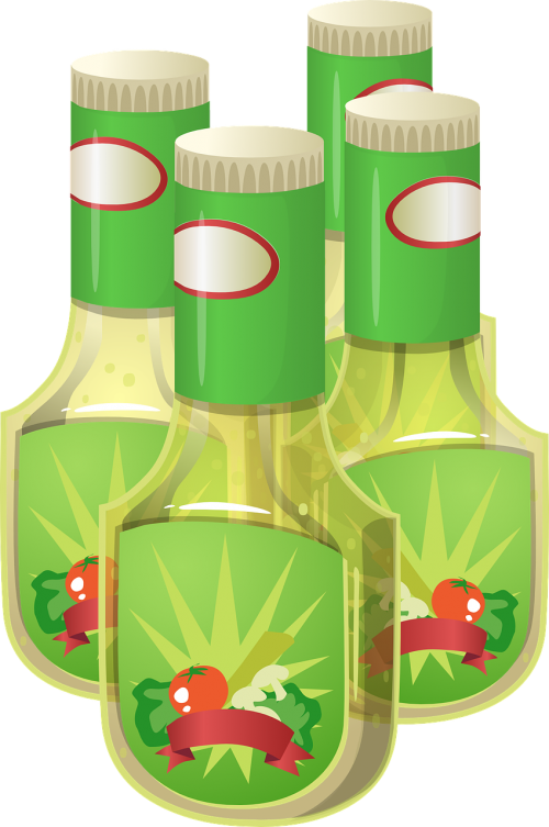salad dressing bottles containers