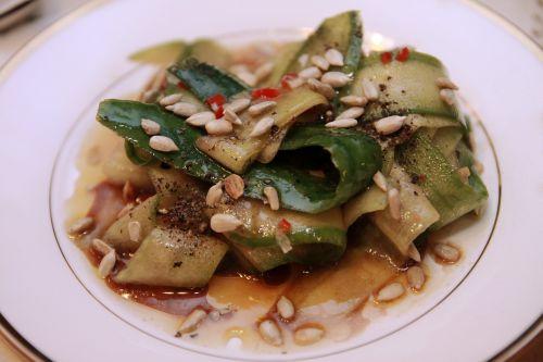 salads cucumber vegetarianism