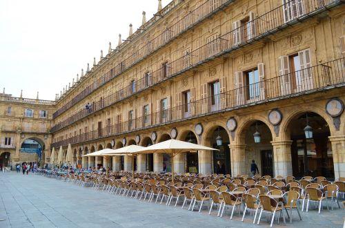 salamanca spain plaza mayor