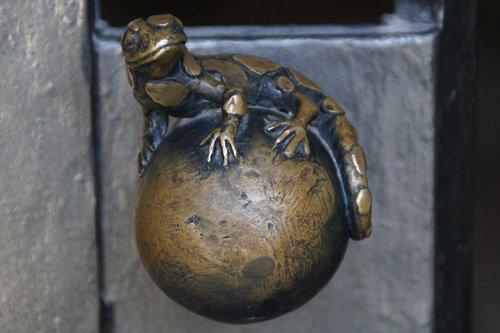 salamander  door knob  door