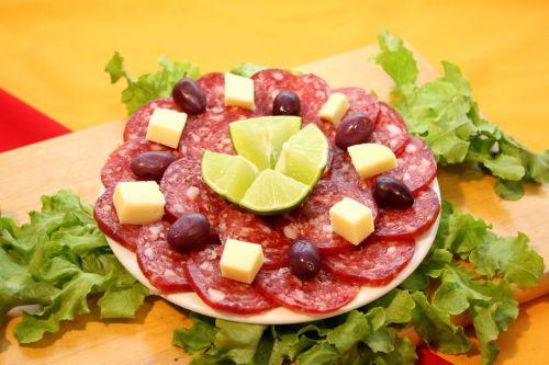 salami entry olive