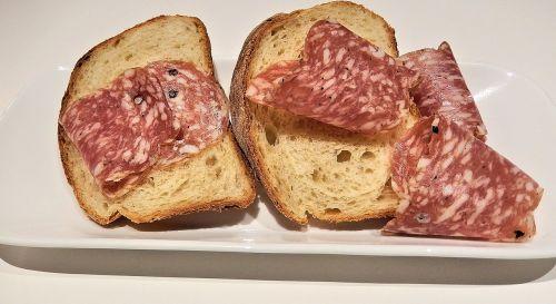 salami whole grain bread soppressata