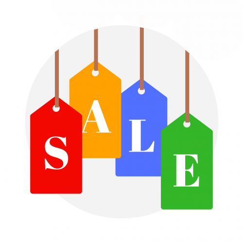sale icon sign