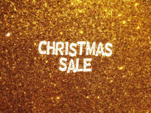 sale christmas glitter