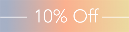 sale 10 percent offer