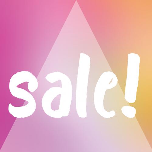 sale discount promotion