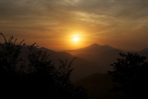 salerno sunset sun