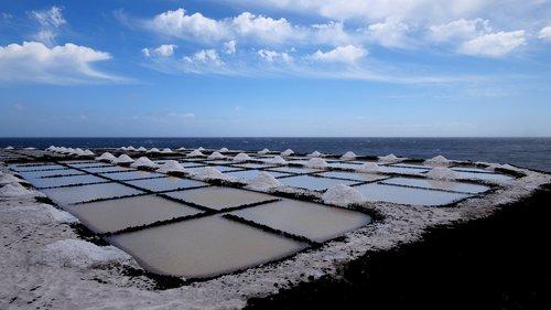 saline  sea salt extraction  fuencaliente