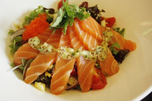 salmon rice bob