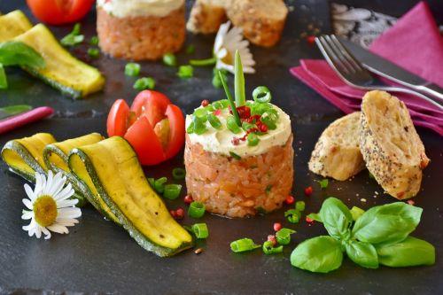 salmon salmon tartare tartar