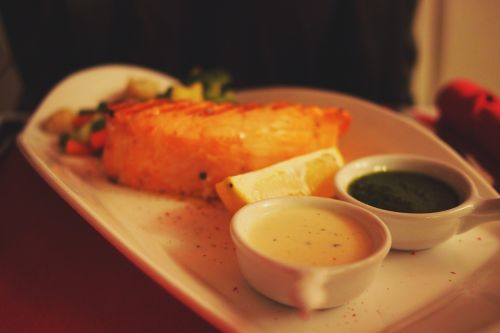 salmon fish food