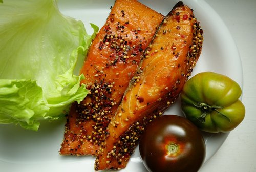 salmon  smoked salmon  fish