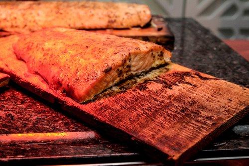 salmon  cedar plank salmon  fish