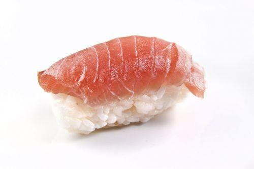 salmon fish nigiri