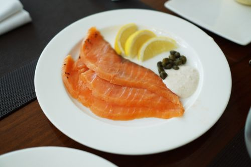 salmon appetizer health