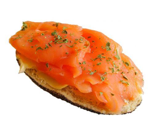 salmon bun salmon sandwich salmon