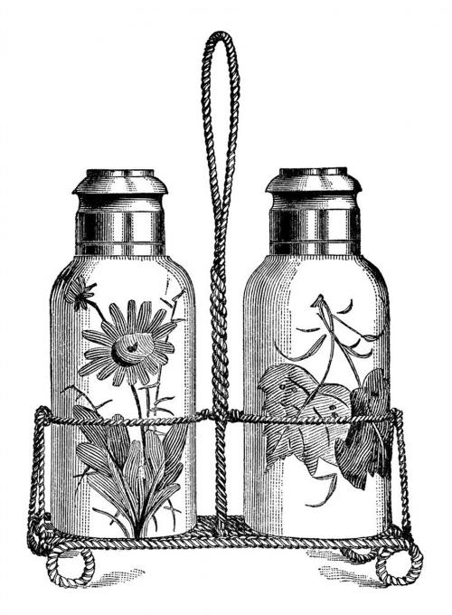 salt pepper shaker decoration
