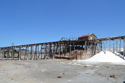 salt salt factory saline