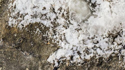 salt crystals white