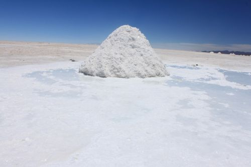 salt salar landscape