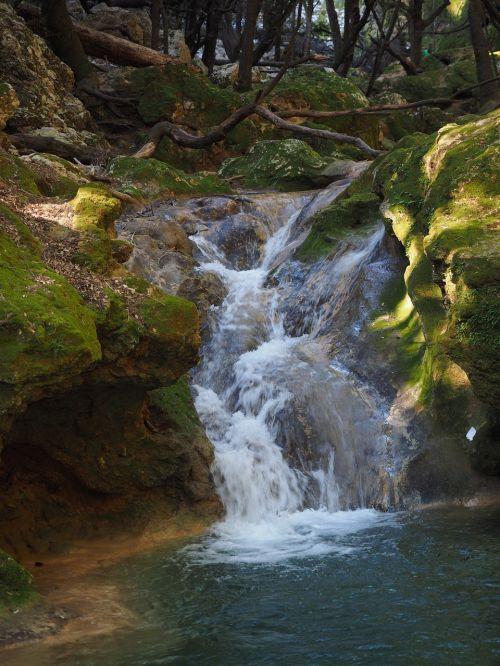 salt des freu waterfall bach