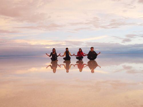 salt desert mirror bolivia