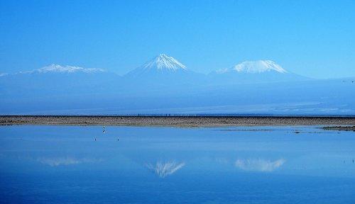 salt lake  the third largest salt lake in the world  atacama