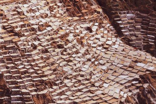 salt pans  maras  salt mining