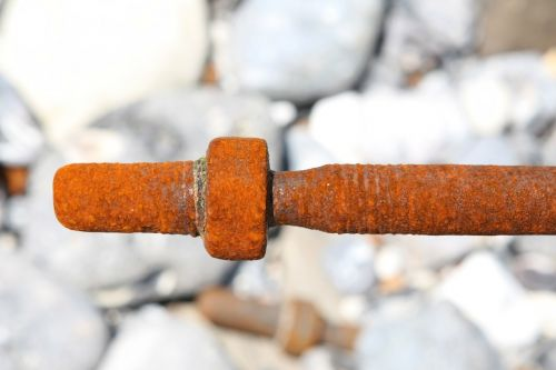 salt water bolt corroded