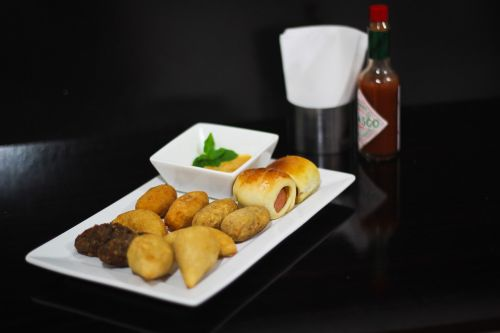 salted party coxinha