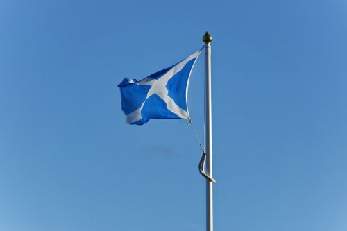 saltire scottish flag scotland