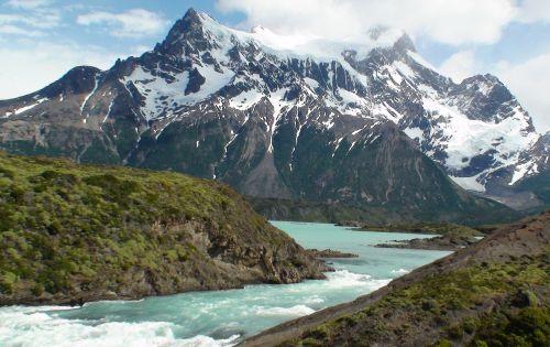 salto grande rio paine argentina waterfall