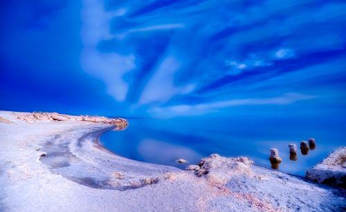 salton sea california sky