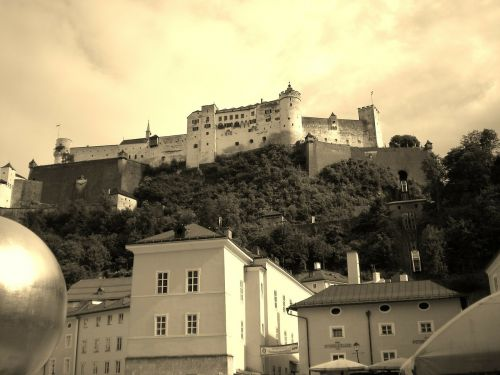 salzburg austria hohensalzburg fortress