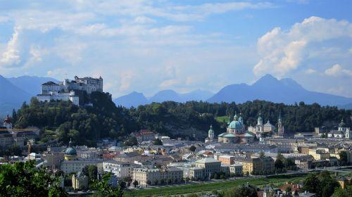 salzburg city castle