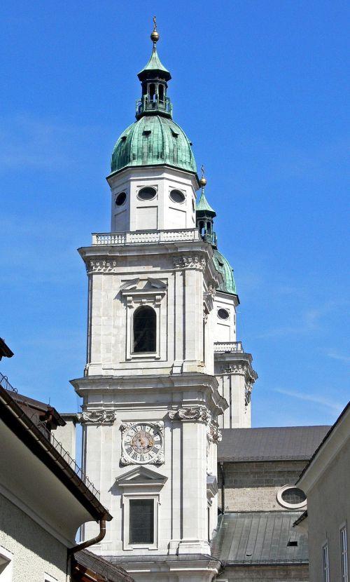 salzburg dom dom' church tower