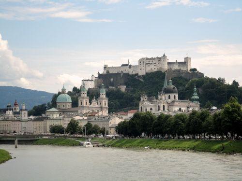 salzburg austria castle